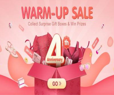ONLINE FASHION RETAILER NEWCHIC CELEBRATES ITS 4TH ANNIVERSARY WITH HUGE REWARDS FOR CUSTOMERS