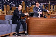 Lin-Manuel Miranda & Jimmy Fallon Turn 2018's Biggest Pop Hits Into Christmas Songs on 'Tonight Show': Watch