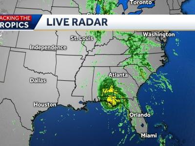 Hurricane Michael makes landfall on Florida's Panhandle as 'extremely dangerous' Category 4 storm