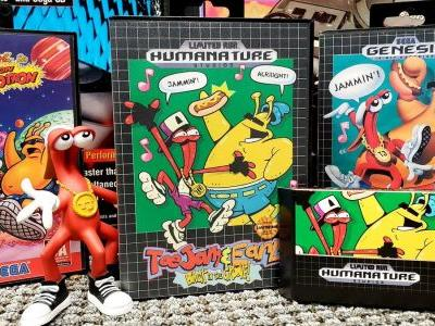 Check out this rad Sega Genesis-style case for the new ToeJam & Earl