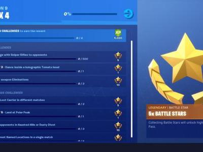 Fortnite Week 4 Challenge List: Dance Inside Holographic Tomato Head, Legendary Weapon Eliminations, And More