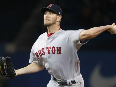 Chris Sale struck by line drive, leaves spring training start with hip contusion