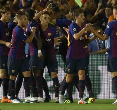Barcelona 2 Tottenham 2 : Malcom seals shoot-out win, Arthur nets stunner