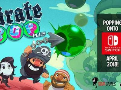 Pirate Pop Plus Launches for Switch in April
