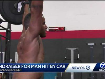 Community steps up to help beloved athlete hit by car