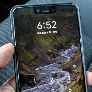 Black Google Pixel 3 XL takes a Lyft ride, gets photographed