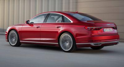 New Audi A8 Is The First Car To Benefit From New German Self-Driving Law