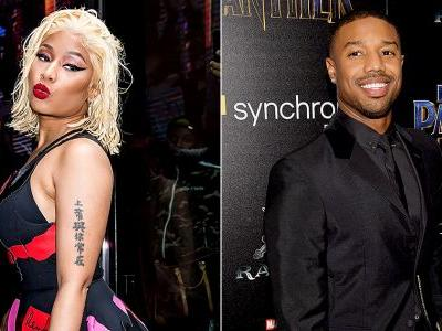 Nicki Minaj Publicly Flirting With Michael B. Jordan Is All Of Us, TBH