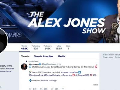 Alex Jones and Infowars permanently suspended from Twitter and Periscope after new content violations