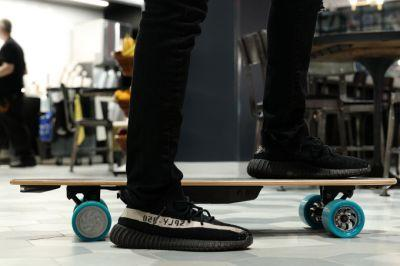 The Huger Tech Racer electric skateboard proves fast doesn't mean first place