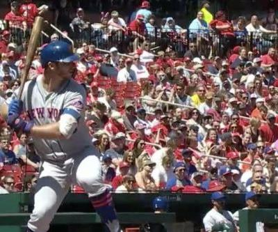 Watch: Mets' Pete Alonso hits 444-foot homer in loss to Cardinals