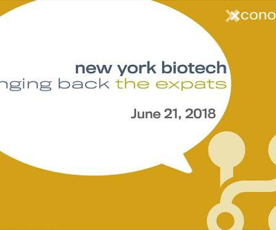 "Ahead of June 21 Xconomy Event, NY ""Expats"" Talk Big Apple's Biotech Future"
