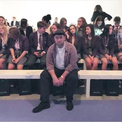 We asked the kids at Richard Quinn's LFW show what they thought of it