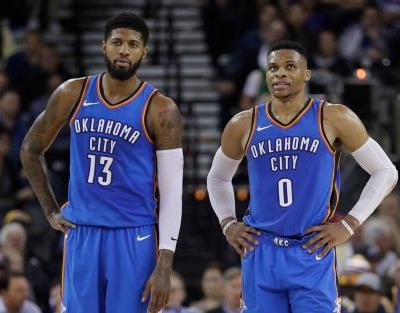 Tweet by Oklahoma City's mayor about Russell Westbrook and Paul George didn't age well