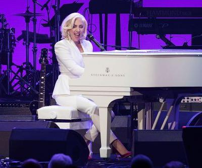 Watch Lady Gaga's Surprise Performance At Hurricane Benefit Featuring All Five Living Former U.S. Presidents