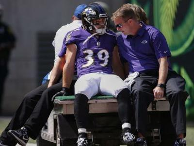 Ravens place Danny Woodhead on IR with hamstring injury