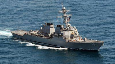 US destroyer USS John S McCain damaged in collision with oil tanker off Singapore