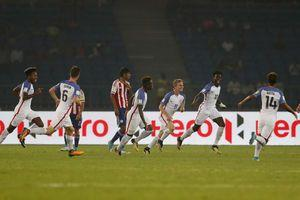 Weah's hat trick leads US over Paraguay 5-0, to U17 QFs