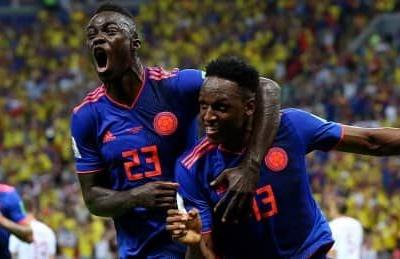Colombia blanks Poland in must-win clash