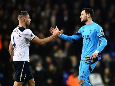 Lloris and Alderweireld out for Tottenham