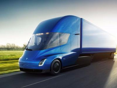 Tesla is already getting orders for its new electric big rig