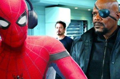 Spider-Man and Nick Fury Share a Boat Ride in New Far from Home