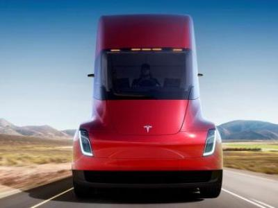 Tesla unveils electric truck and $200,000 sports car