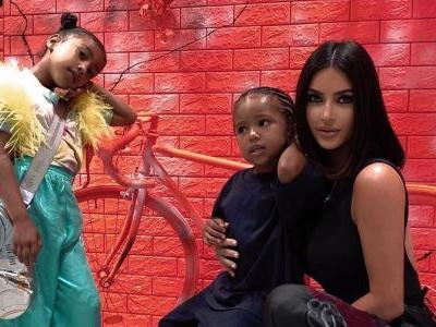Kim Kardashian and Kanye West Are Stylin' in Japan With North and Saint