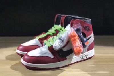 OFF-WHITE x Air Jordan 1: Different Colored Laces and Release Info Revealed