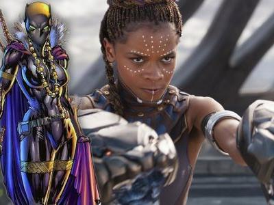Official Concept Art Gives Shuri Her Own Black Panther Suit