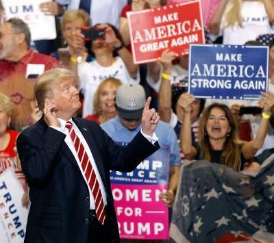 Trump's rally in Phoenix, Arizona, reportedly cost the city $450,000