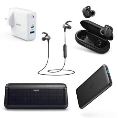 Save big on Anker charging accessories + Bluetooth headphones at Amazon UK