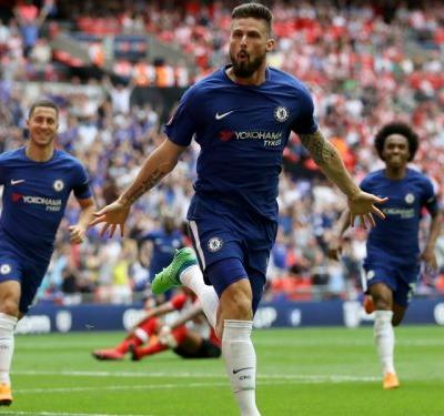 Playing at Wembley is like playing in my garden - Giroud