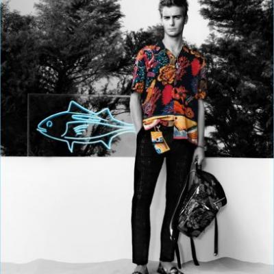 Ben Allen Embraces Tropical Style for Paul Smith Spring '18 Campaign