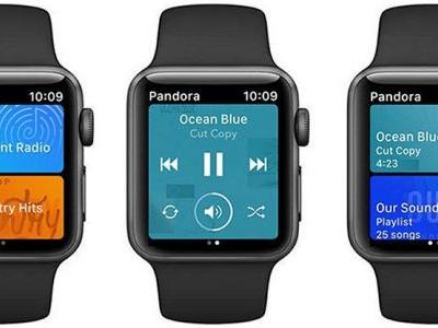 Pandora Launches Apple Watch App With Offline Playback Capabilities