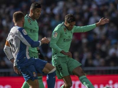 Madrid tops Espanyol to move to the top in Spanish league
