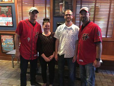 Arooga's Grille House & Sports Bar and Harrisburg Senators Raise $2500 for PA Prostate Coalition with 'Pints for Prostates'