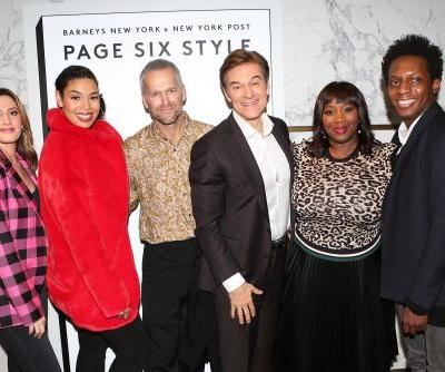 Page Six Style parties with Barneys