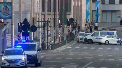 Live: Brussels police respond to report of explosion at train station