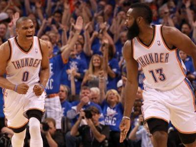 Rockets reunite Russell Westbrook, James Harden: A look back at what happened the last time the stars played together