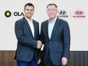 Hyundai Kia Join Hands With Ola For Mobility Solutions