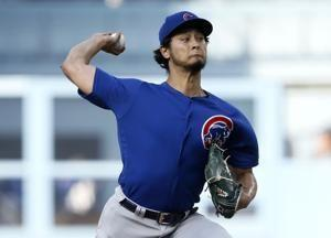 Rizzo's 2-run homer in 9th lifts Cubs over Dodgers 2-1