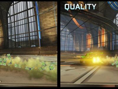 Rocket League lands a new Quality Mode for Nintendo Switch and tournaments