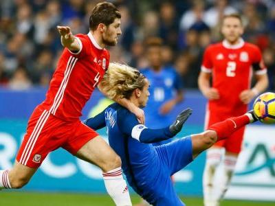 Griezmann and Giroud score again as France beats Wales