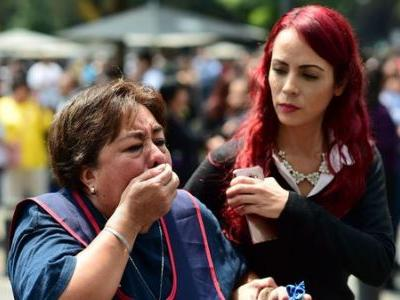 Powerful Earthquake Shakes Mexico On 32nd Anniversary Of Deadly Temblor