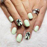 Palm Tree Nail Art Is the Perfect Way to Usher in the Summer