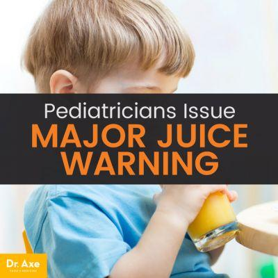 Is Juice Healthy? Doctors Issue Warning for Parents