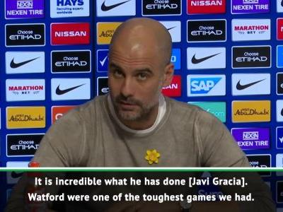 Tough Watford game is vital for City - Guardiola