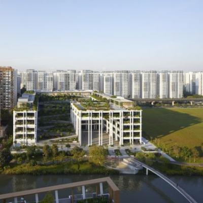 Punggol Neighbourhood and Polyclinic / Serie Architects + Multiply Architects