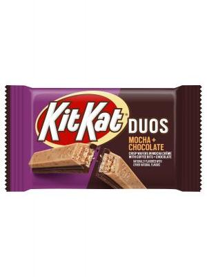 This New Kit Kat Duos Mocha & Chocolate Flavor Is A Twist On A Classic